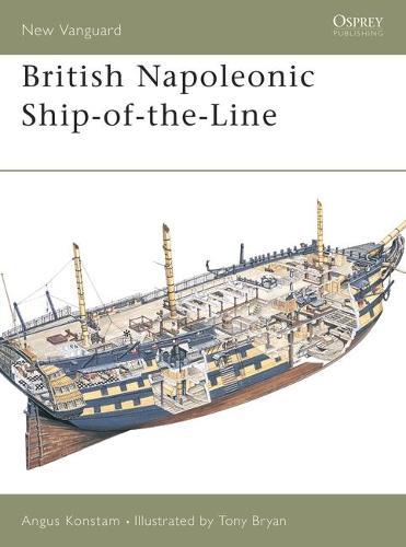 British Napoleonic Ship-of-the-Line - New Vanguard (Paperback)