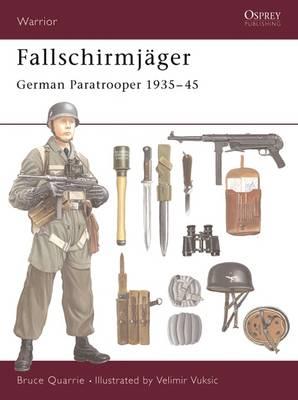 Fallschirmjager: German Paratrooper 1935-45 - Warrior S. No. 38 (Paperback)