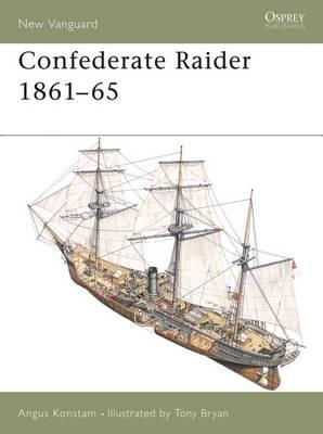 Confederate Raider 1861-65 - New Vanguard (Paperback)