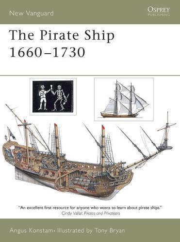 Pirate Ship 1660-1730 - New Vanguard No. 70 (Paperback)