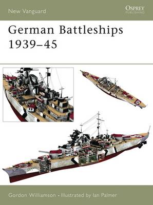German Battleships 1939-45 - New Vanguard No.71 (Paperback)