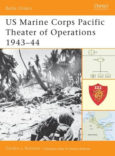 US Marine Corps Pacific Theater of Operations: v. 2: 1943-44 - Battle Orders S. No. 7 (Paperback)