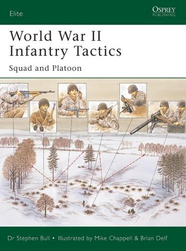 World War II Infantry Tactics (1): Vol. 1: Squad to Company - Elite 105 (Paperback)