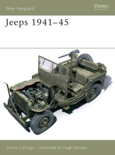 Jeeps 1941-45 - New Vanguard 117 (Paperback)