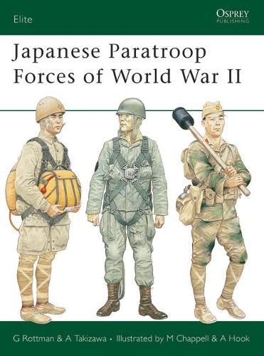 Japanese Paratroop Forces of World War II - Elite (Paperback)