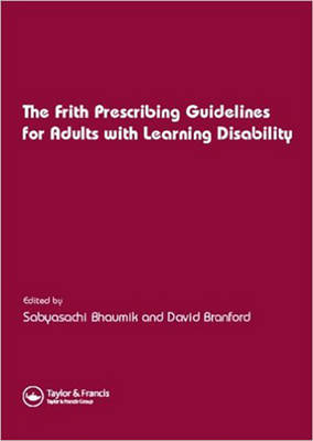 Frith Prescribing Guidelines in Adults with Learning Disability (Paperback)