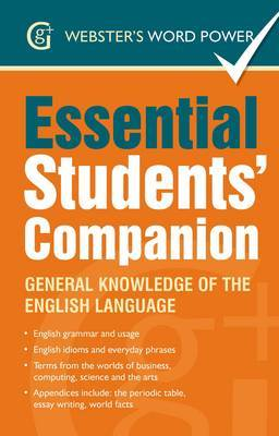 Webster's Word Power Essential Students' Companion: General Knowledge of the English Language (Paperback)