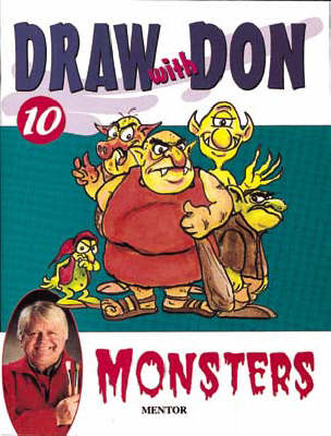 Draw with Don: Monsters No. 10 - Draw with Don S. 10 (Paperback)