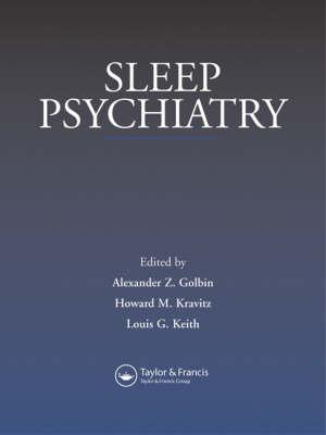 Sleep Psychiatry (Hardback)
