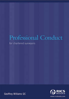 Professional Conduct for Chartered Surveyors (Paperback)
