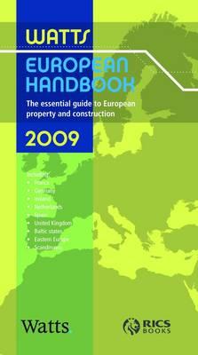 Watts European Handbook 2009 2009 (Paperback)