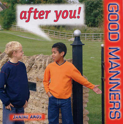 After You! - Good Manners S. (Paperback)