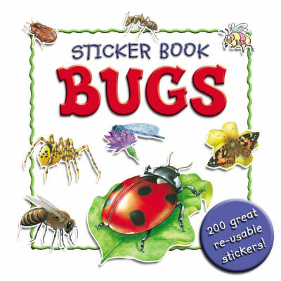 Bugs - Sticker Book S. (Paperback)