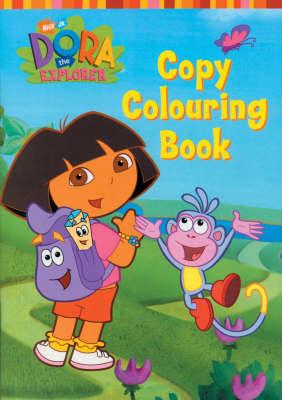 Dora the Explorer Copy Colour (Board book)