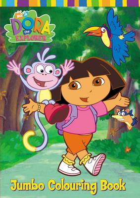 Dora the Explorer Jumbo Colouring Book (Paperback)