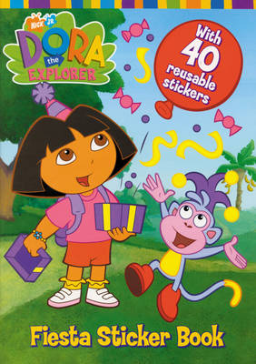 Dora the Explorer Fiesta Sticker Book