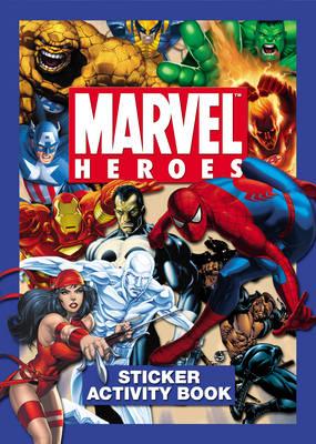 Marvel Heroes Sticker Book (Paperback)