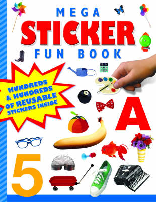 Mega Sticker Fun Book (Paperback)