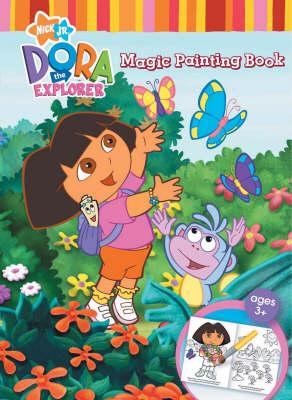 Dora the Explorer Magic Painting Book (Paperback)