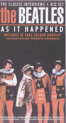 The Beatles 'as It Happened': Classic Interview Series (Paperback)