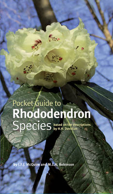 Pocket Guide to Rhododendron Species (Hardback)