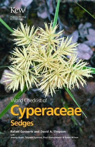 World Checklist of Cyperaceae: Sedges (Paperback)
