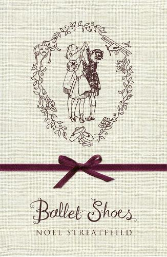 Cover of the book, Ballet Shoes.