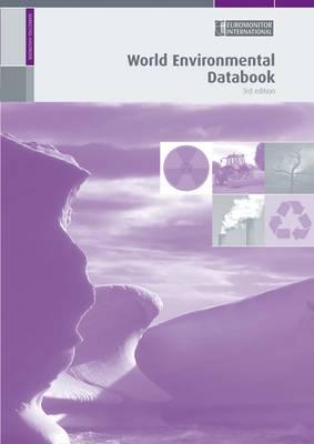 World Environmental Databook (Paperback)