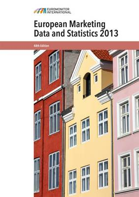 European Marketing Data and Statistics 2013 (Paperback)