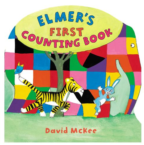 Elmer's First Counting Book - Elmer Picture Books (Hardback)