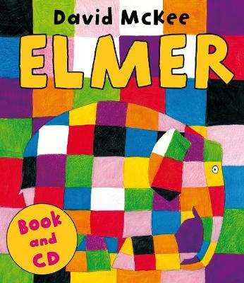 Elmer: Book and CD (Paperback)