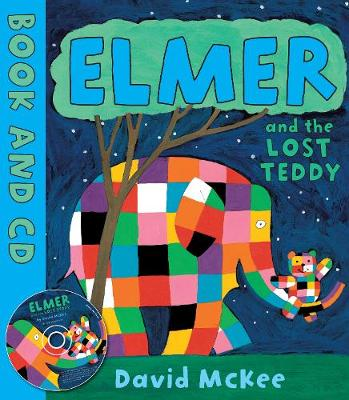 Elmer and the Lost Teddy: Board Book - Elmer (Paperback)