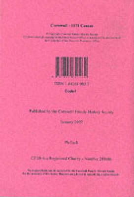 Cornwall 1871 Census: Index of Entries for the Civil Parish of Phillack (Paperback)
