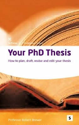 Editing a phd thesis