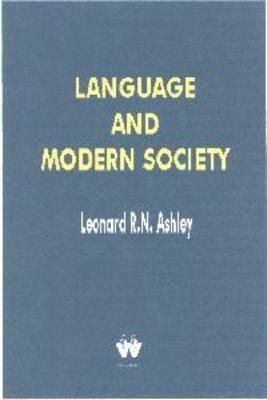 Language and Modern Society (Paperback)