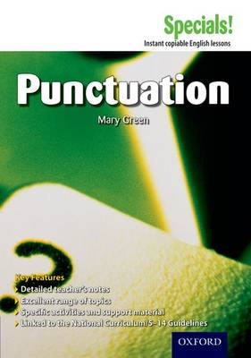 Secondary Specials!: English - Punctuation - Secondary Specials! (Paperback)