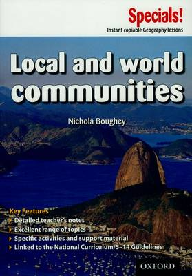 Secondary Specials!: Geography - Local and World Communities - Secondary Specials! (Paperback)
