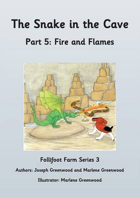 The Snake in the Cave: Fire and Flames Part 5 - Follifoot Farm Series 3 5 (Paperback)
