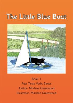 The Little Blue Boat - Past Tense Verbs Series 1 (Paperback)