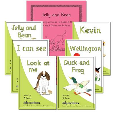 Aseries Books 5-10 Reading and Writing Package