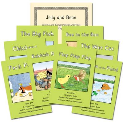 A Digraphs Series Books 17-24 Reading and Writing Package