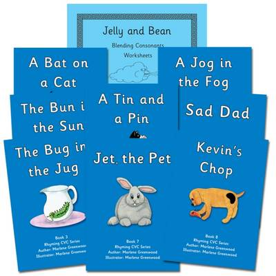 Rhyming CVC Series and Blending Consonants Reading and Writing Package