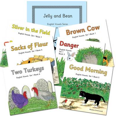 English Vowels Set 1 Reading and Writing Package