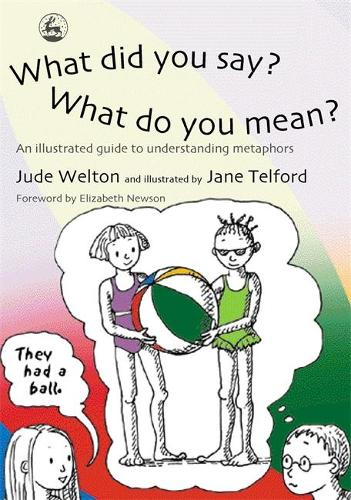 What Did You Say? What Do You Mean?: An Illustrated Guide to Understanding Metaphors (Paperback)