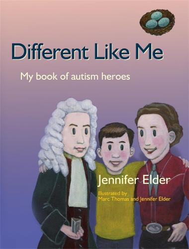Different Like Me: My Book of Autism Heroes (Hardback)