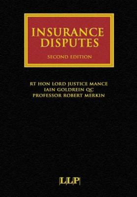 Insurance Disputes - Insurance Law Library (Hardback)