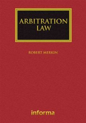 Arbitration Law - Lloyd's Commercial Law Library (Hardback)