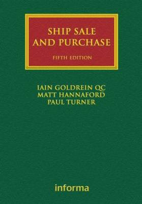 Ship Sale and Purchase - Lloyd's Shipping Law Library (Hardback)