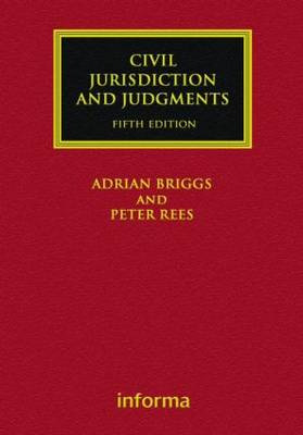 Civil Jurisdiction and Judgments - Lloyd's Commercial Law Library (Hardback)