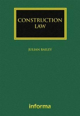 Construction Law - Construction Practice Series (Hardback)
